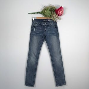 7 For All Mankind | Roxanne Low Rise Skinny Jeans